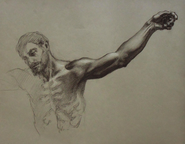 Study for Crucifixion by Cody Swanson
